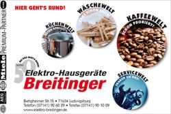 Elektro-Hausgeräte Breitinger