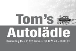 Tom's Autolädle