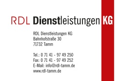 Sponsor-Tafel RDL