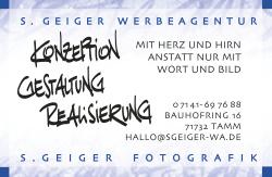 S.Geiger Werbeagentur