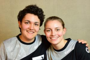 Jessica Ott und Melanie Bastian