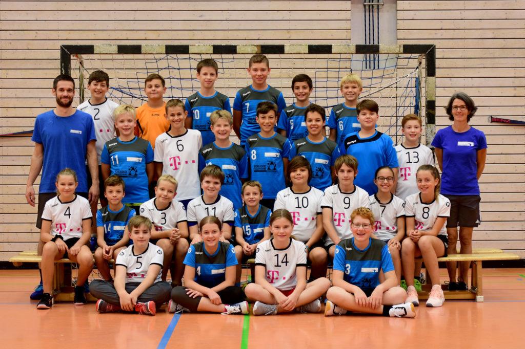 Mannschaftsbild D-Jugend